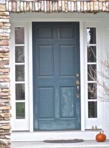 aging front door