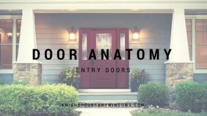 sliding doors Edmonton - Door Anatomy