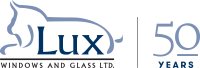 lux logo 50years