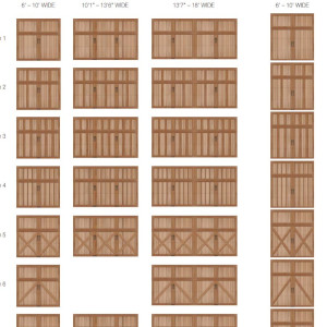 Reserve Collection Limited Edition Series Garage Door design collection