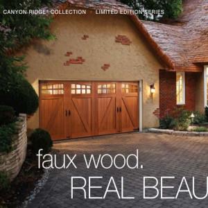 Canyon Ridge Collection Ultra Grain Series garage door collection