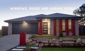 Windows, doors and garage doors coordinated installation in Edmonton